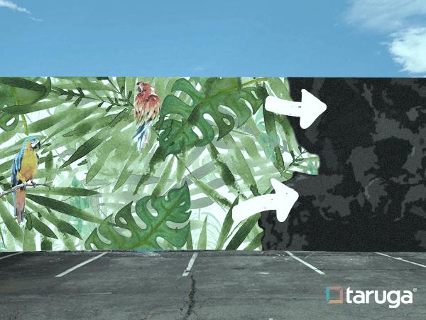 mural ciudad ecosostenible