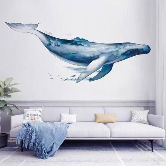 mural animal marino