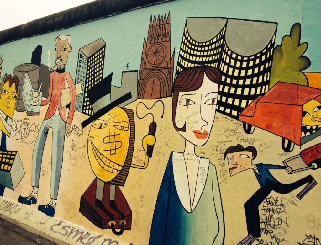East Side Gallery arte mural