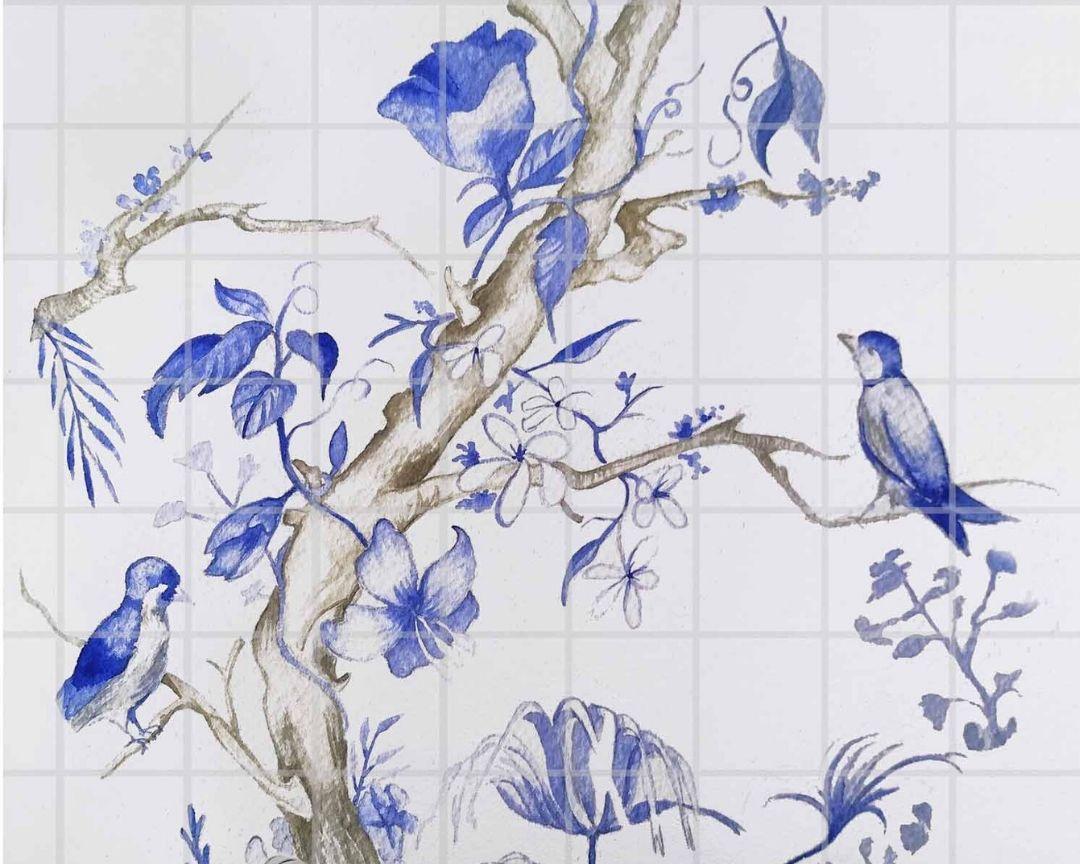 Cobalto azores azulejos