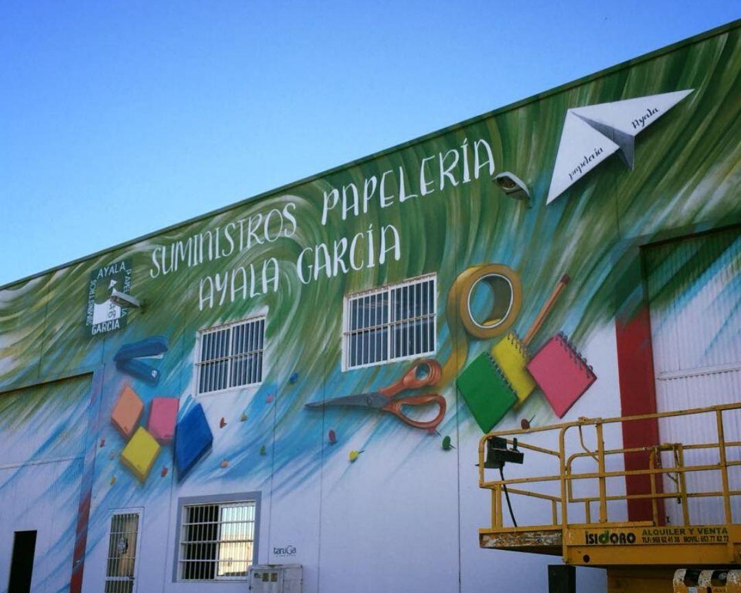 mural nave suministros papeleria